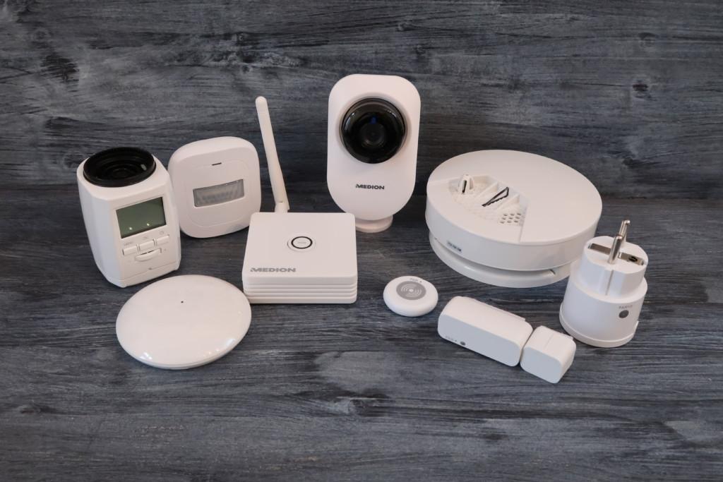 medion smart home starter set im test technik review. Black Bedroom Furniture Sets. Home Design Ideas