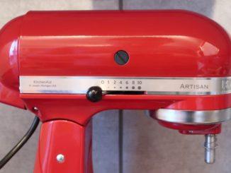 KitchenAid Artisan Küchenmaschine Geschwindigkeitsregler Test Review