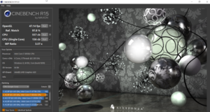 Dell Inspiron 13 7000 CINEBENCH