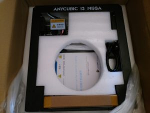 Anycubic I3 MEGA Verpackung