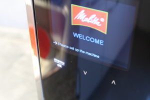 Melitta Barista TS Smart Display Einrichtung