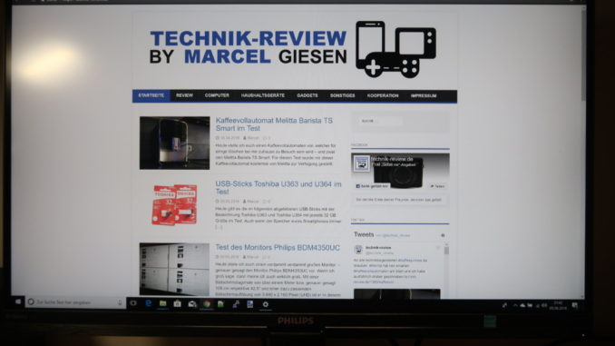 Philips 272P7VPTKEB Test Review