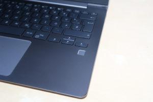 ASUS ZenBook UX331UN Fingerreader